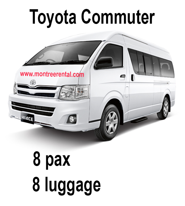 Montree Rental - Toyota Commuter